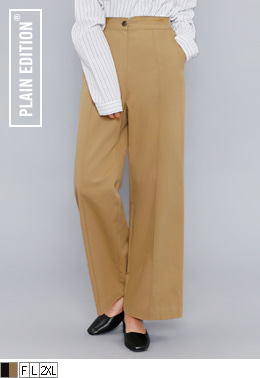 Pintuck Cotton Slacks | 럽미